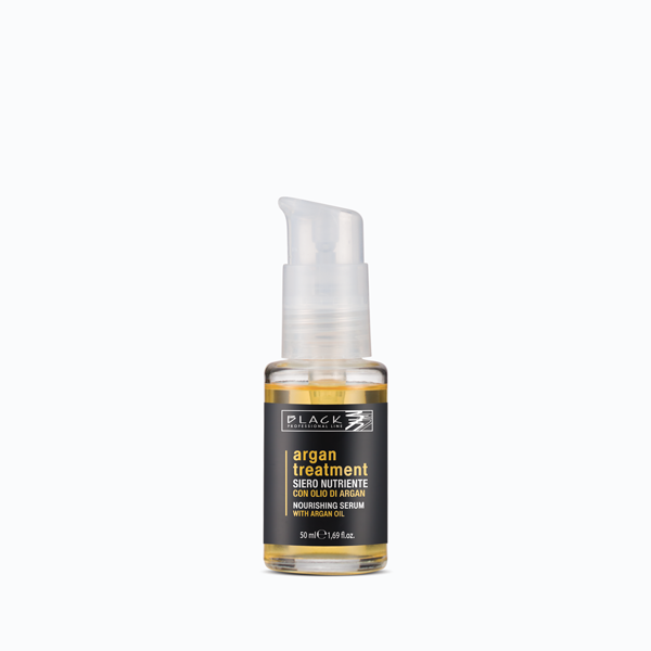 Siero nutriente per capelli con olio di Argan
