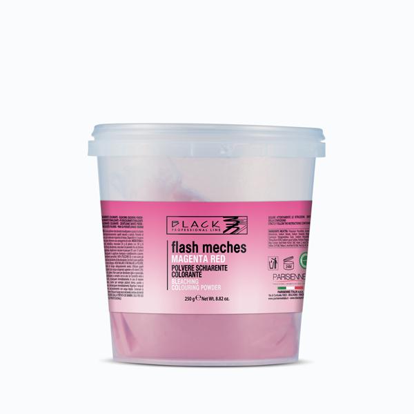 Flash Mèches - Polvere decolorante tonalizzante - Red magenta
