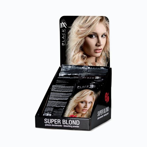 Super Blond - Polvere decolorante azzurra in bustine